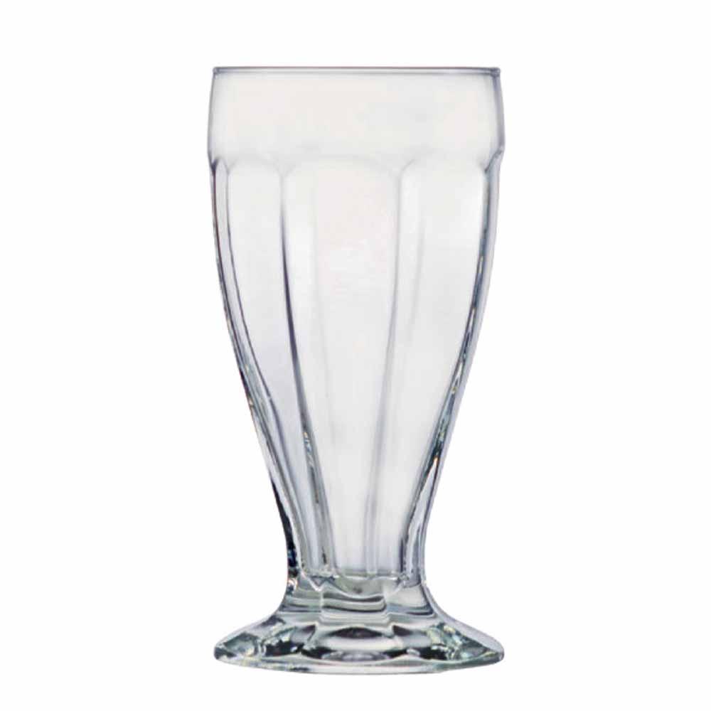 Jogo de Taças de Sorvete Milkshake London Vidro 415ml 12 Pcs Ruvolo