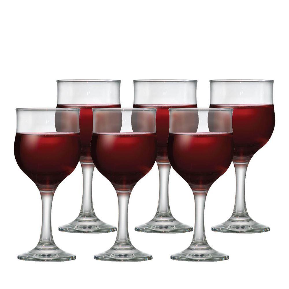 Taça de Vinho Branco de Vidro Barcelona 240ml 6 Pcs