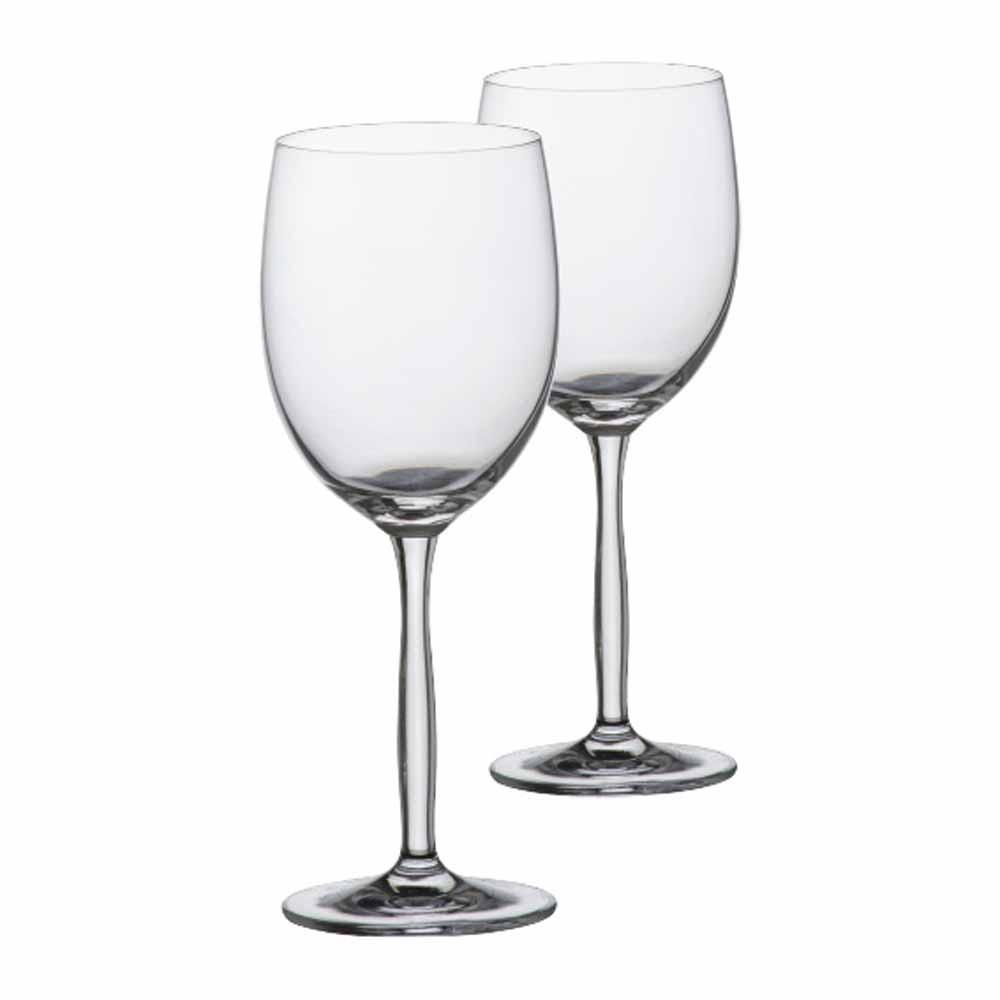 Jogo de Taças de Vinho Branco Ritz Cristal 335ml 2 Pcs