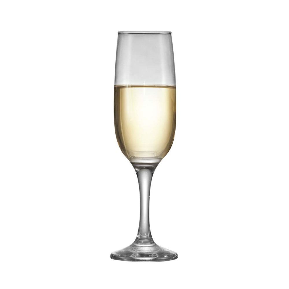 Jogo de Taças para Champagne Vidro Sr Sra Certo 215ml 2 Pcs