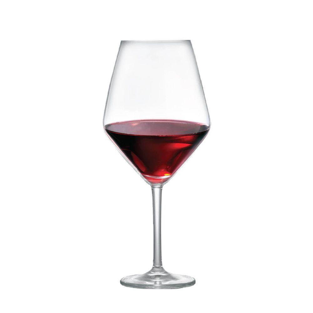 Jogo de Taças Vinho Tinto Elegance Cristal 775ml 6 Pcs