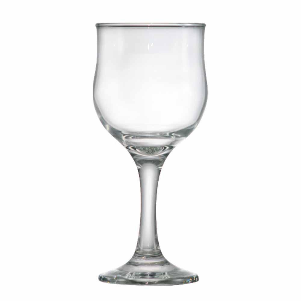 Taça de Vinho Barcelona de Vidro 240ml 12 Pcs