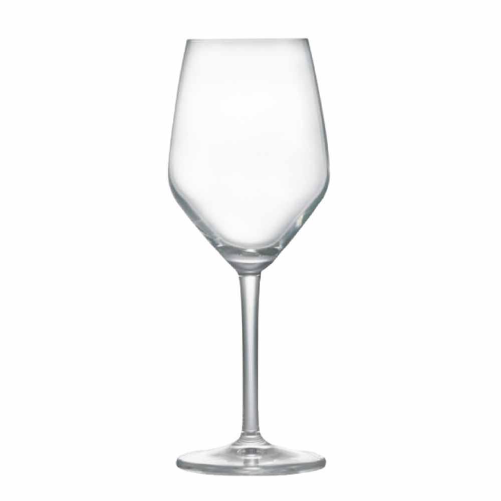Jogo de Taças Vinho Branco Elegance Cristal 375ml 6 Pcs
