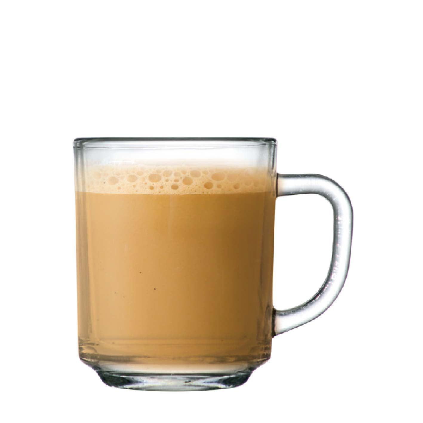 Jogo de Canecas de Cafe Coffee Luva 6 Pcs Vidro 245ml