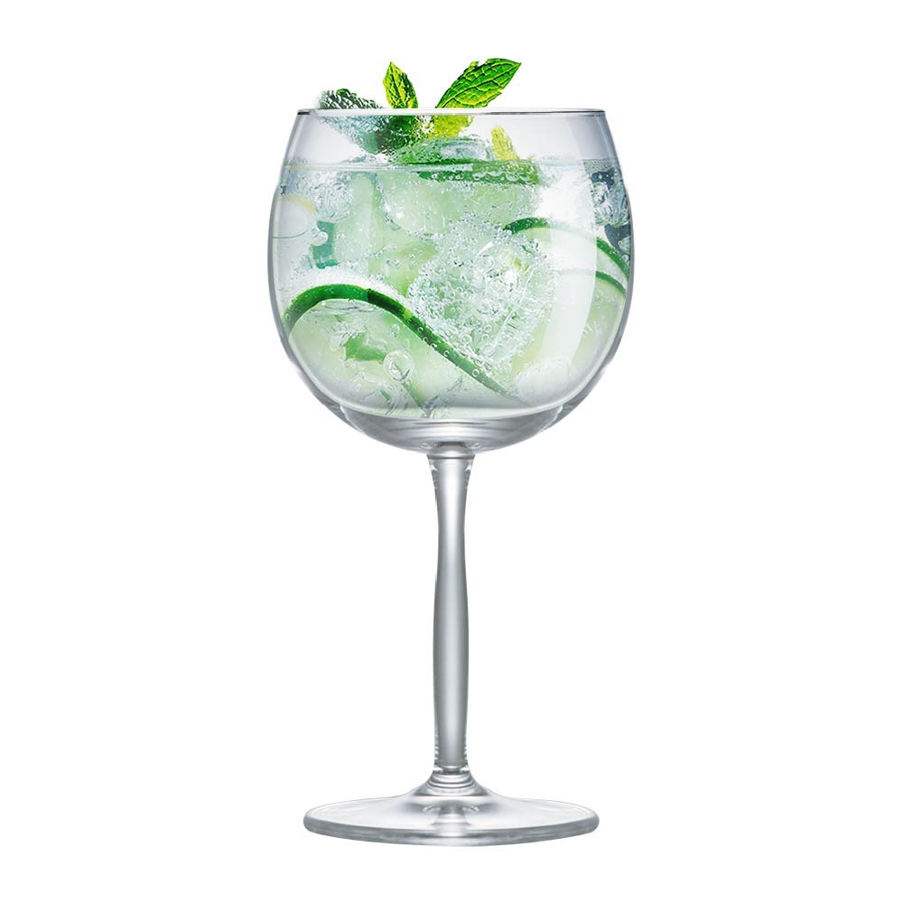 Jogo Taça Gin Cristal Beefeater Tanqueray Bombay 550ml 2 Pcs