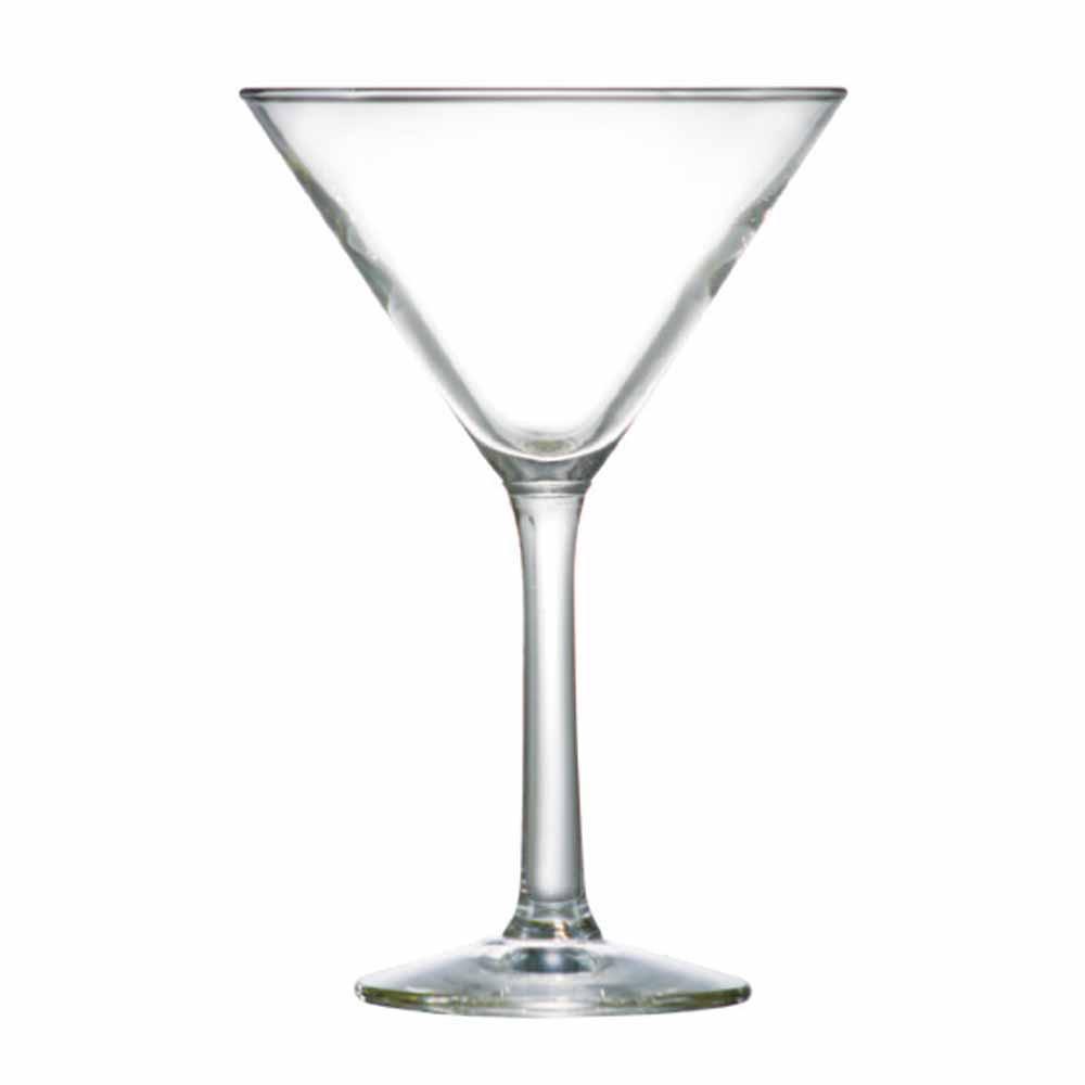 Jogo Taças Martini Martini Vidro 225ml 12 Pcs