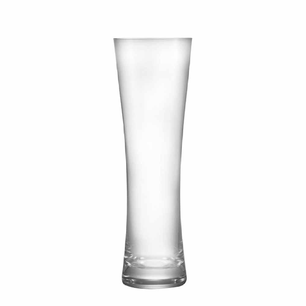 Copo de Cerveja de Cristal Blanc P 320ml 6 Pcs