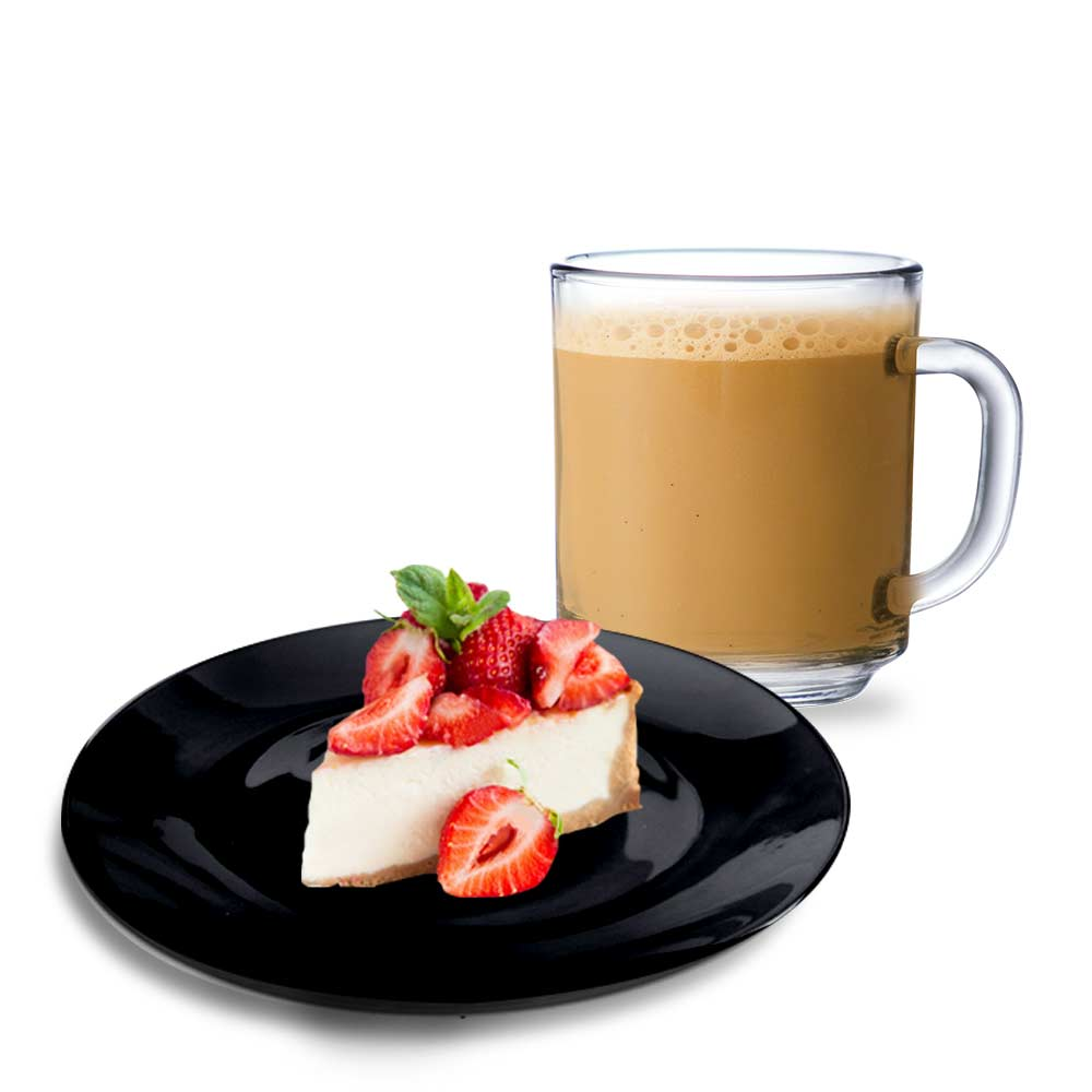 Kit Presente - Prato de Sobremesa e Xícara de Café