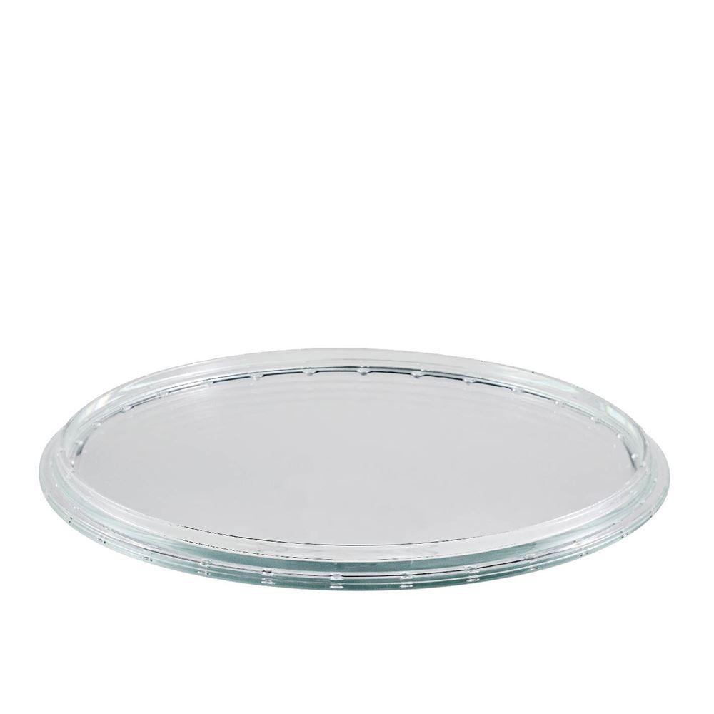 Prato de Vidro San Remo Aba Ideal para Caldas Ruvolo