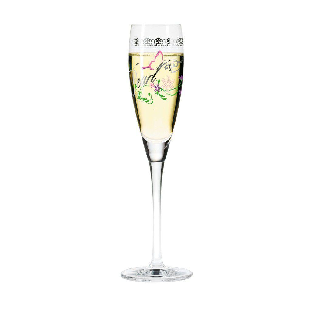 Taça para Prosecco Cristal Ritzenhoff Glass Diana Sopha 2007 160ml