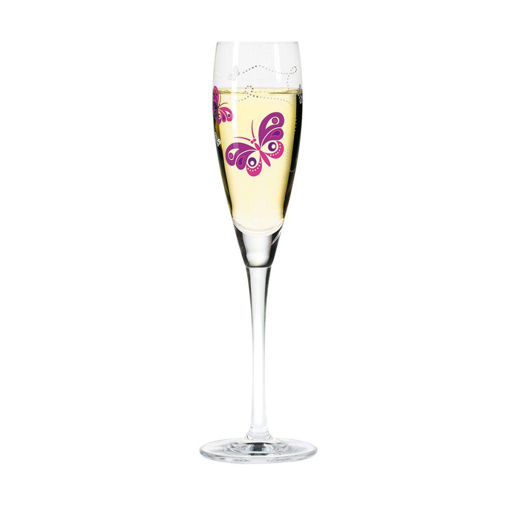 Taça para Prosecco Cristal Ritzenhoff Glass  Ina Biber 2008 160ml