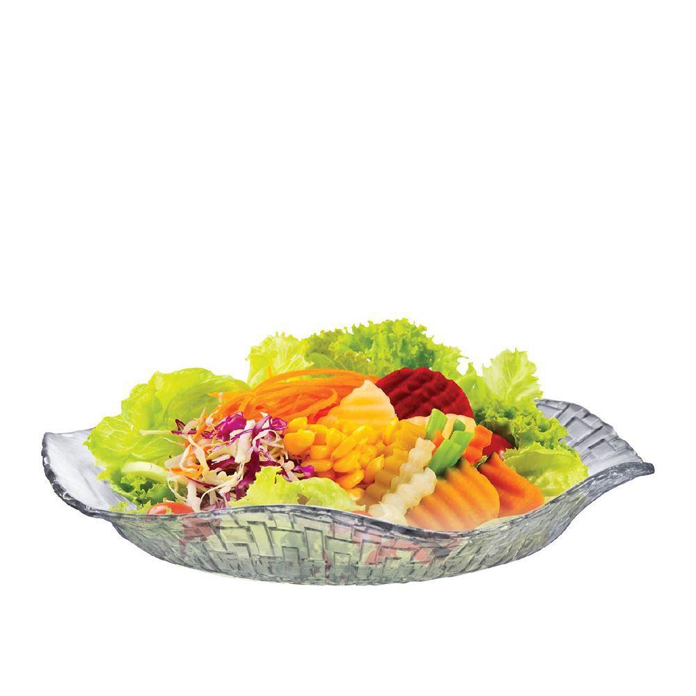 Saladeira de Vidro - Fruteira em Vidro Bari Ruvolo