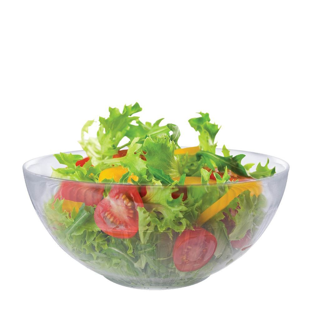 Saladeira - Fruteira - Tigela Bowl de Vidro Gourmet Ruvolo