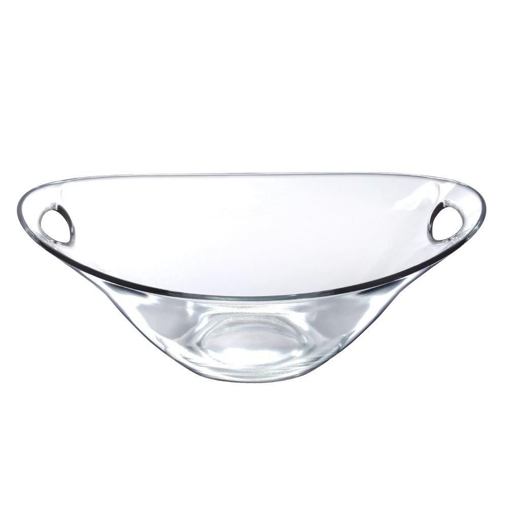 Saladeira Redonda de Vidro Parma G Vidro 2420ml Ruvolo
