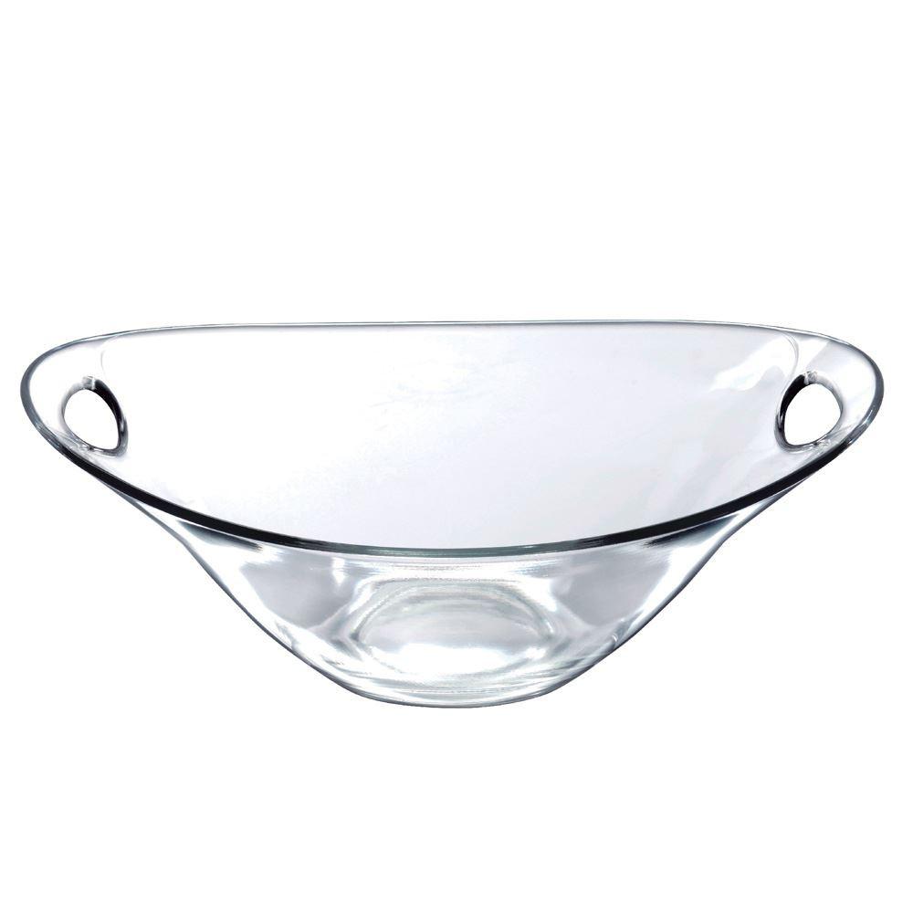 Saladeira Redonda de Vidro Parma M Vidro 1720ml Ruvolo