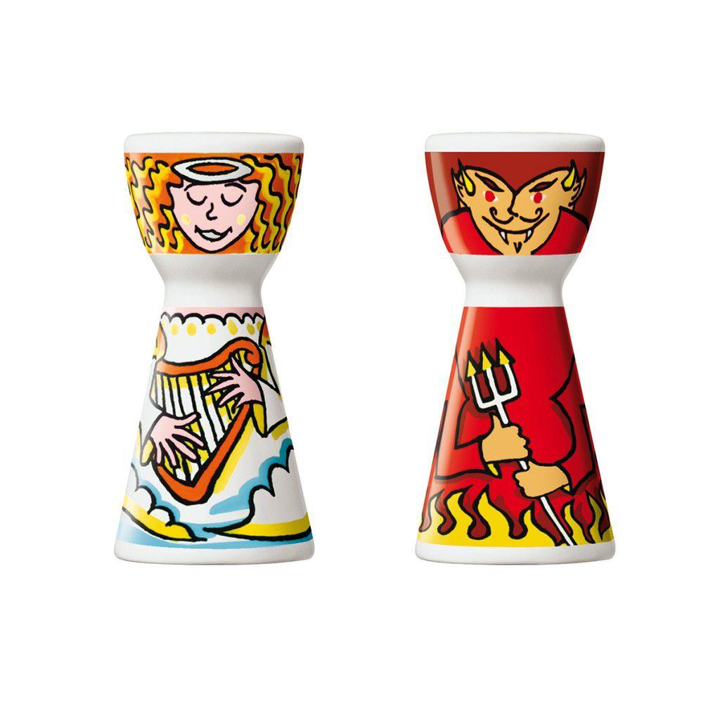 Saleiro Ritzehoff Salt Cellar & Pepper Pot  Tim Davies 2002 02 peças