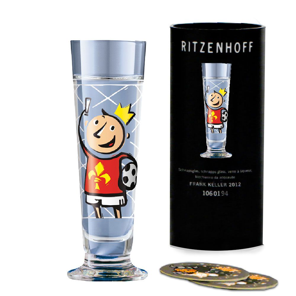 Taça de Schnapps Ritzenhoff Glass Stephanie Roehe 2006