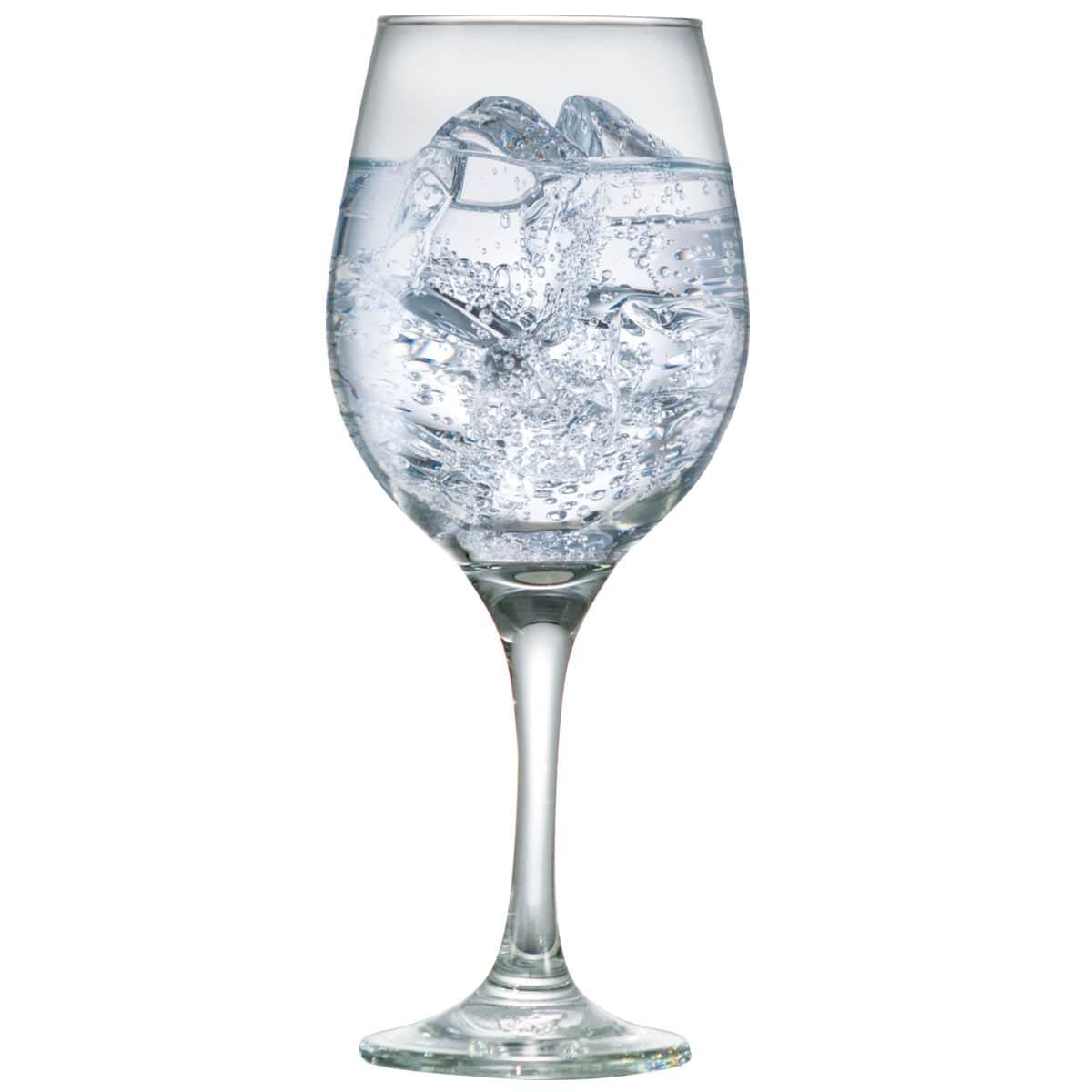 Taça de Água ou Vinho de Vidro One 490ml