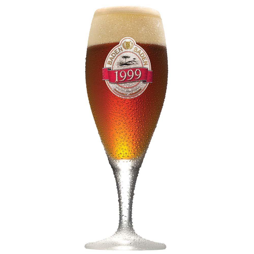 Taça de Cerveja Baden Baden 1999 Cristal 400ml