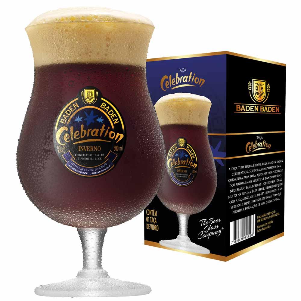 Taça de Cerveja Baden Baden Celebration 645ml