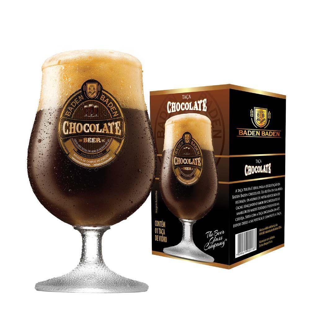 Taça de Cerveja Baden Baden Chocolate Cristal 380ml