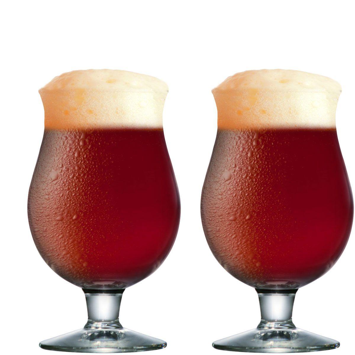 Taça de Cerveja Belgian de 415ml 2 pcs