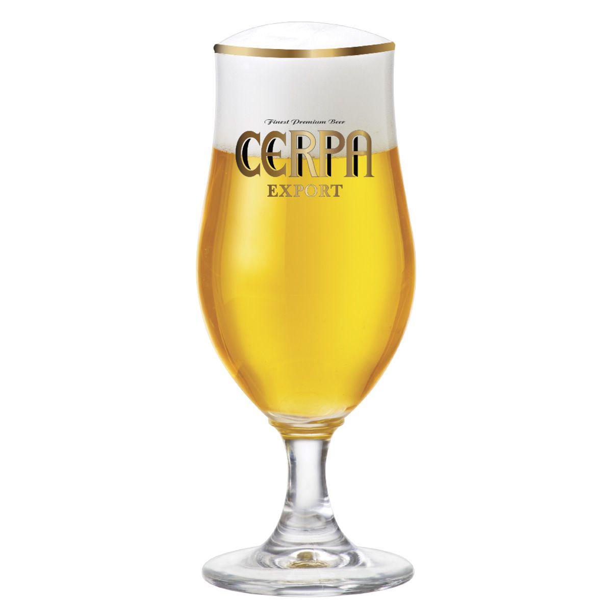 Taça de Cerveja Cerpa Export Cristal 370ml