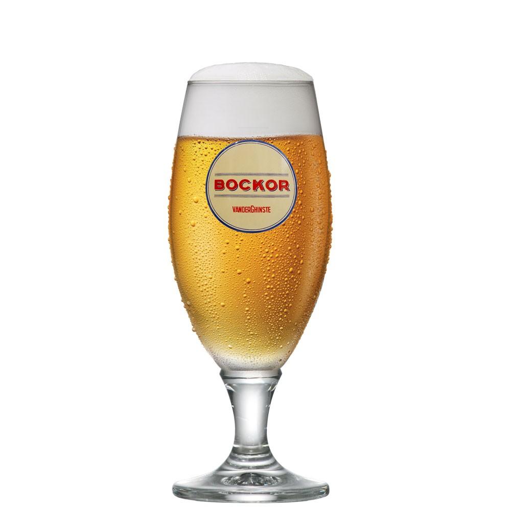 Taça de Cerveja Claras de Vidro Bockor 300ml