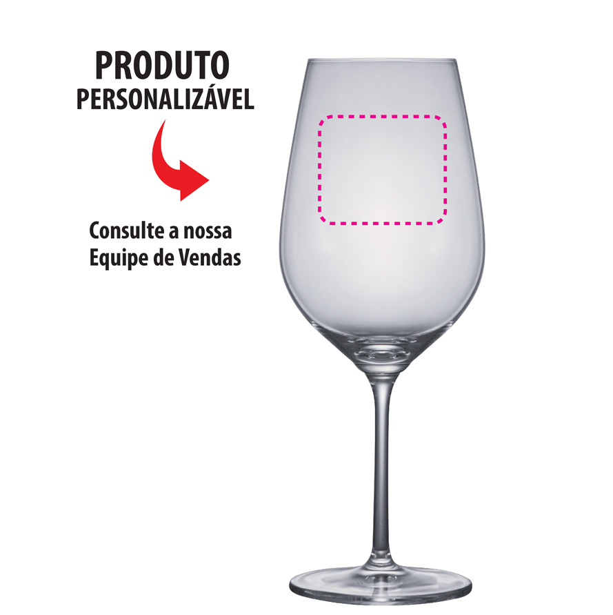 Taça de Cerveja Cristal Aspergo Bordeaux 625ml 6pcs