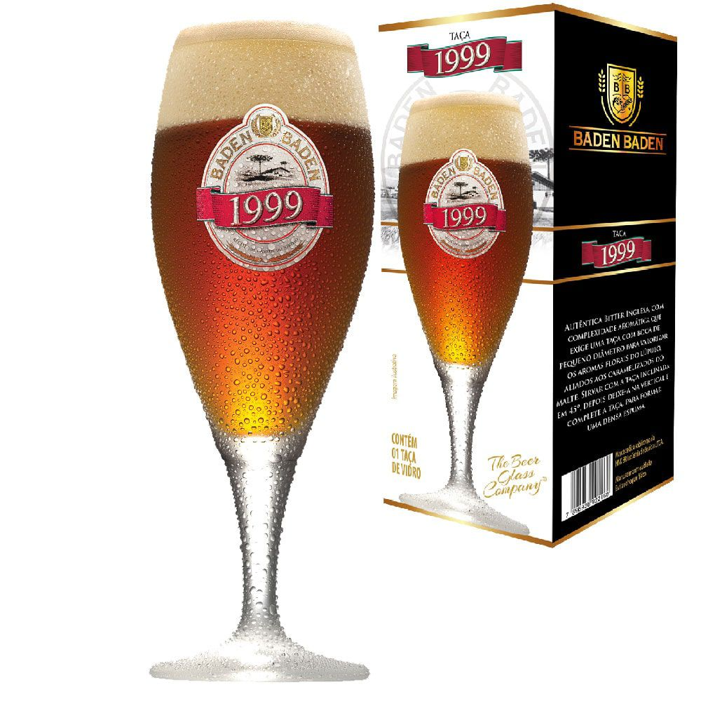 Taça de Cerveja Baden Baden 1999 400ml