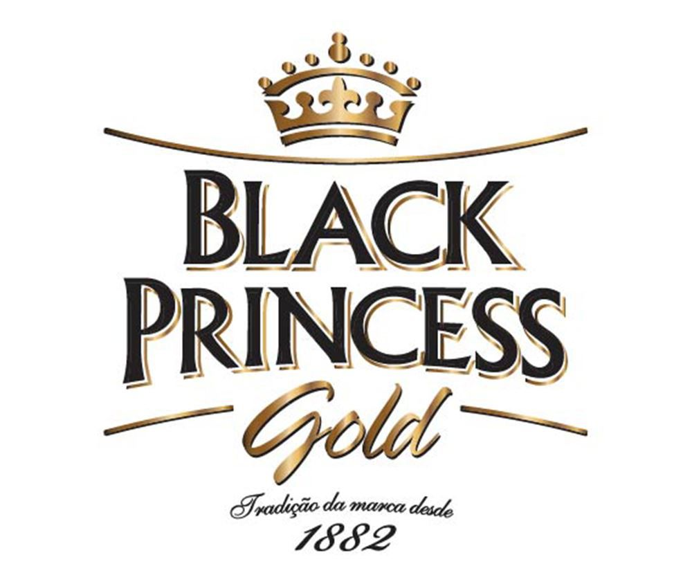 Taça de Cerveja Cristal Black Princess Nevada 370ml