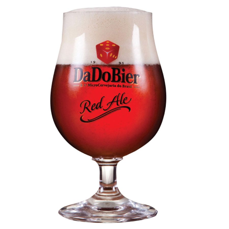 Taça de Cerveja Cristal Dado Bier Red Ale 380ml