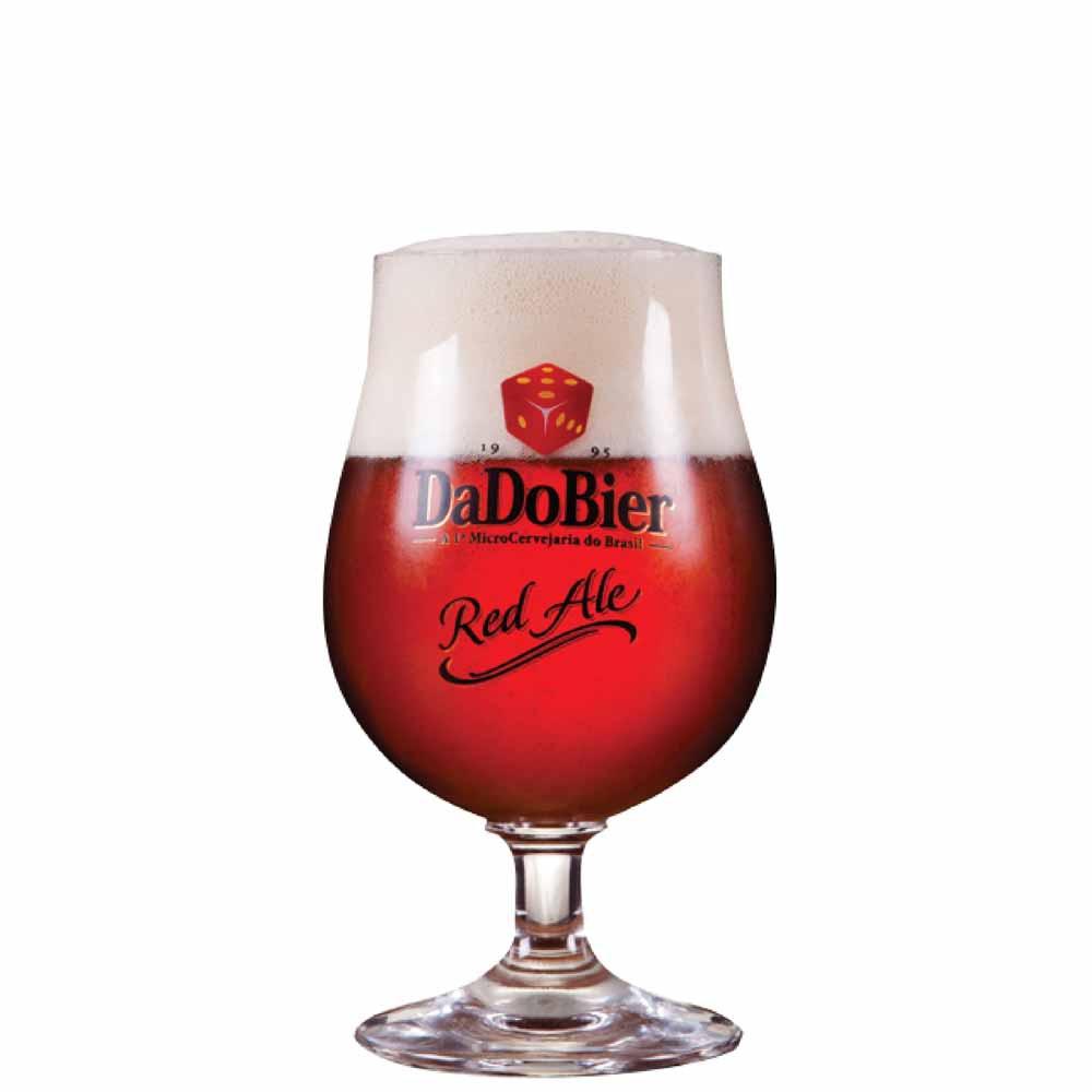 Taça de Cerveja Dado Bier Red Ale Cristal 380ml