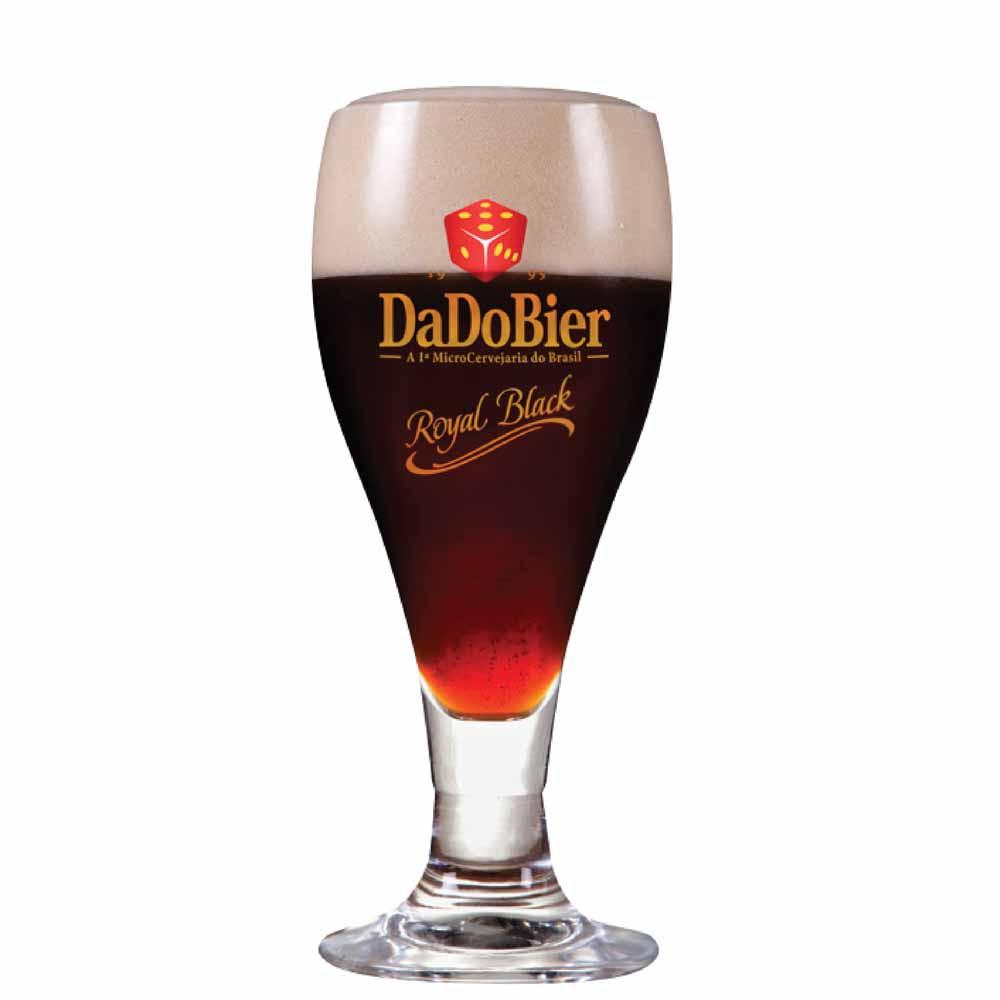 Taça de Cerveja Dado Bier Royal Black Cristal 375ml