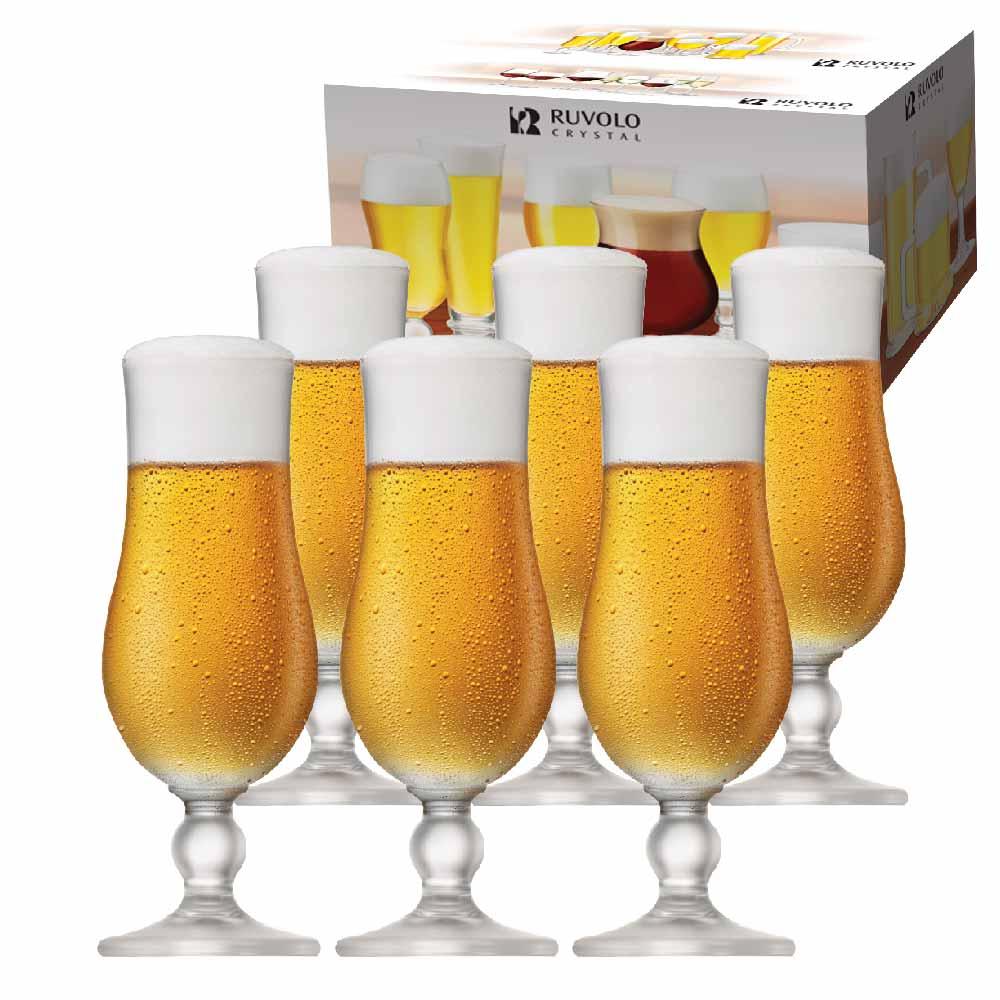 Taça de Cerveja de Cristal Kassel 400ml 6 Pcs