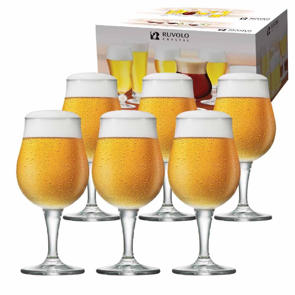Taça de Cerveja de Cristal Mason M 390ml 6 Pcs