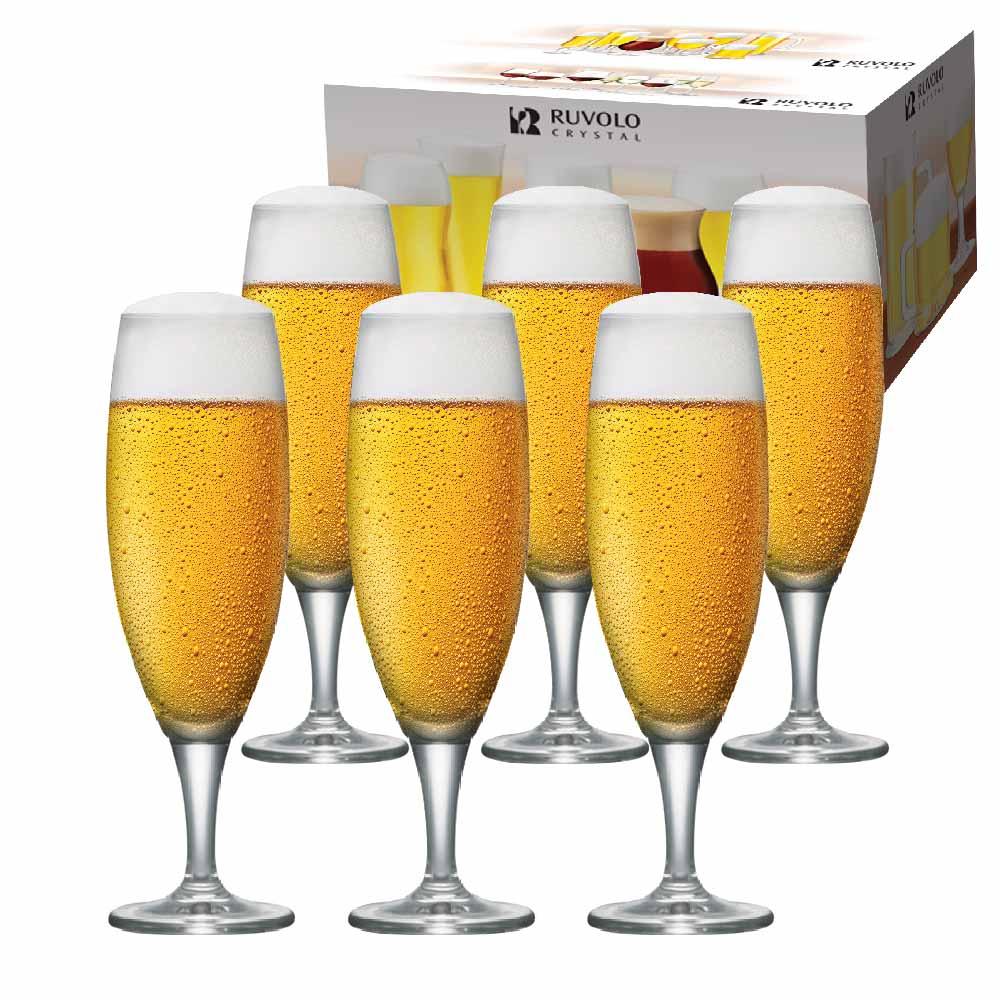 Taça de Cerveja de Cristal Montana P 315ml 6 Pcs