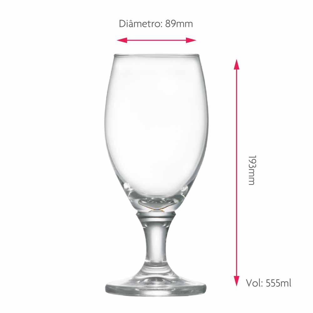 Taça de Cerveja Deister G Cristal 555ml