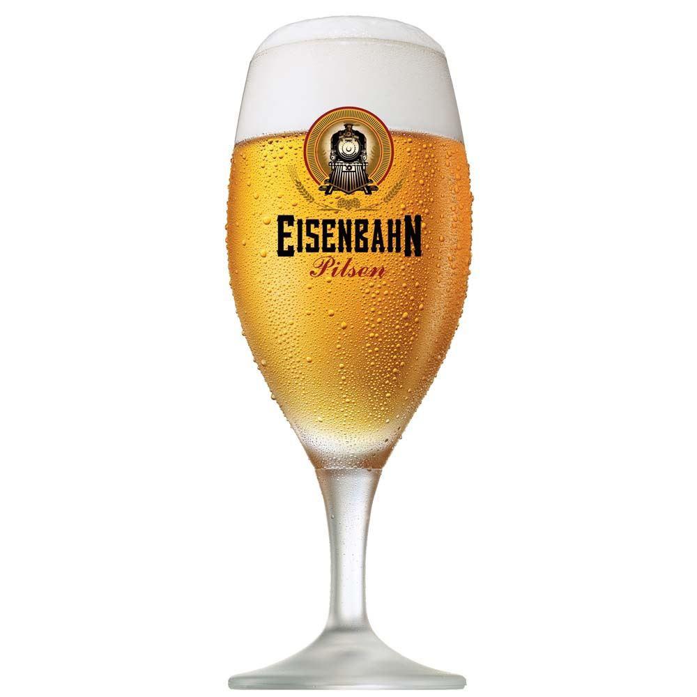 Taça de Cerveja Eisenbahn Cristal Pilsen 400ml