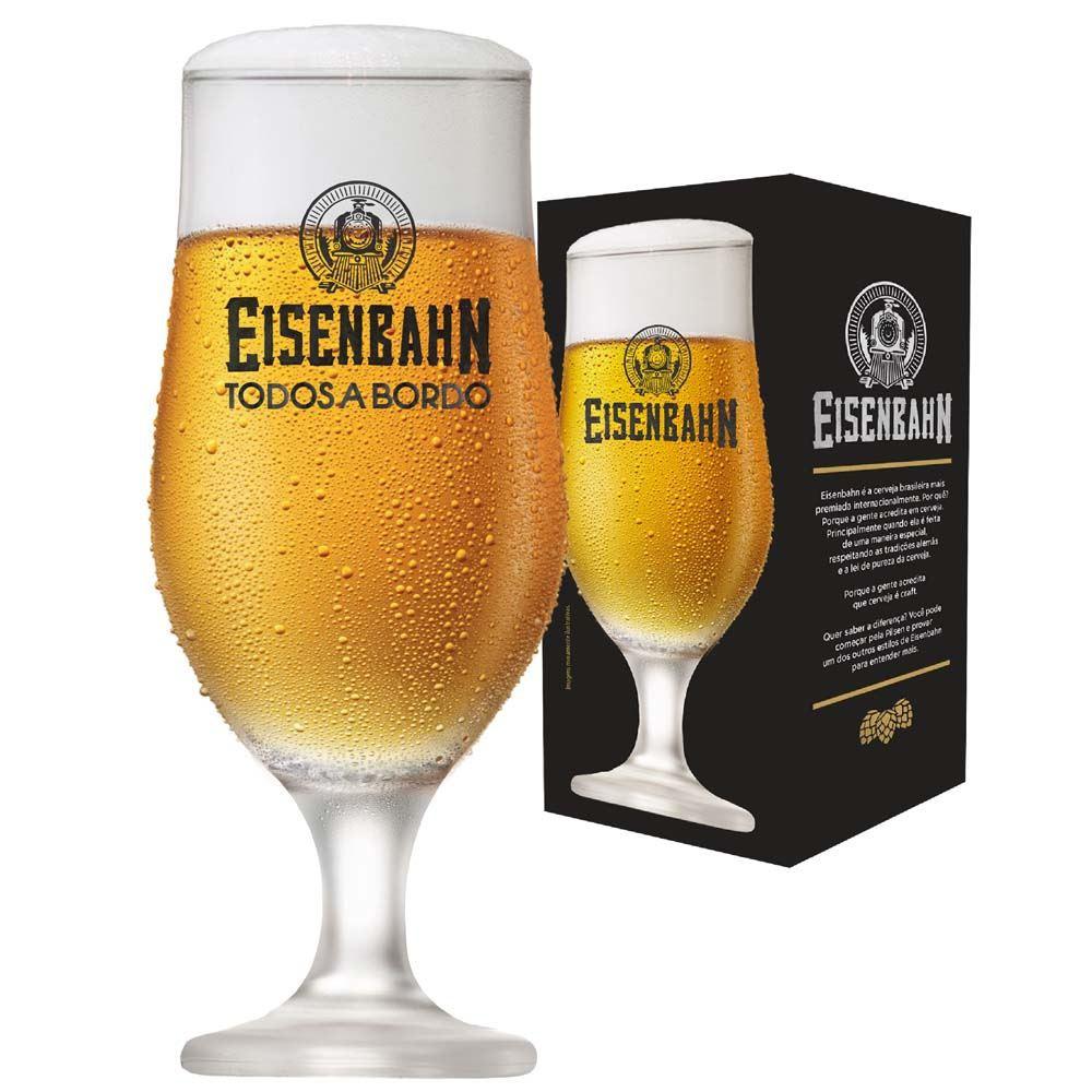 Taça de Cerveja Eisenbahn Royal Beer Vidro 330ml