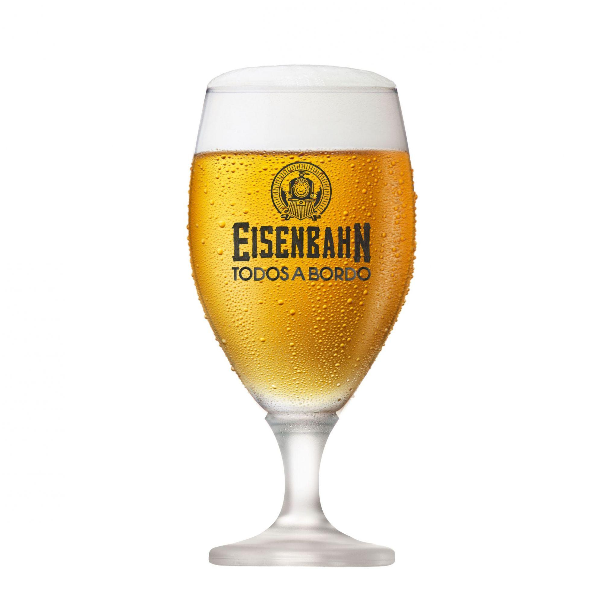 Taça de Cerveja Eisenbahn Todos a Bordo 555ml
