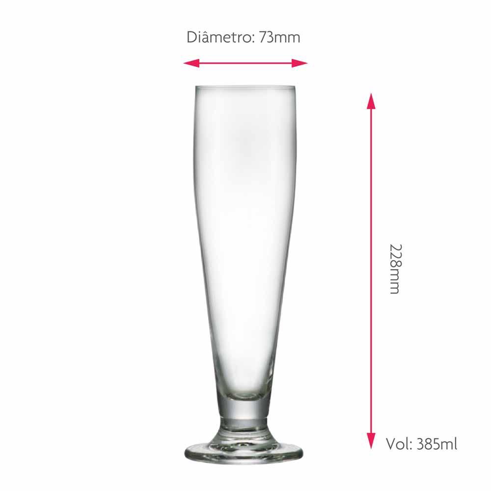 Taça de Cerveja Halle Cristal 385ml