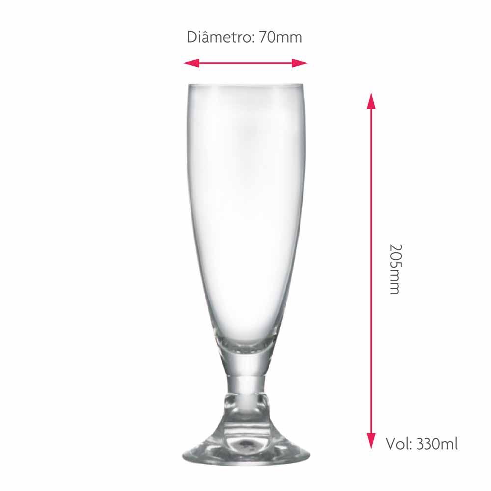 Taça de Cerveja Heroldik Cristal 330ml