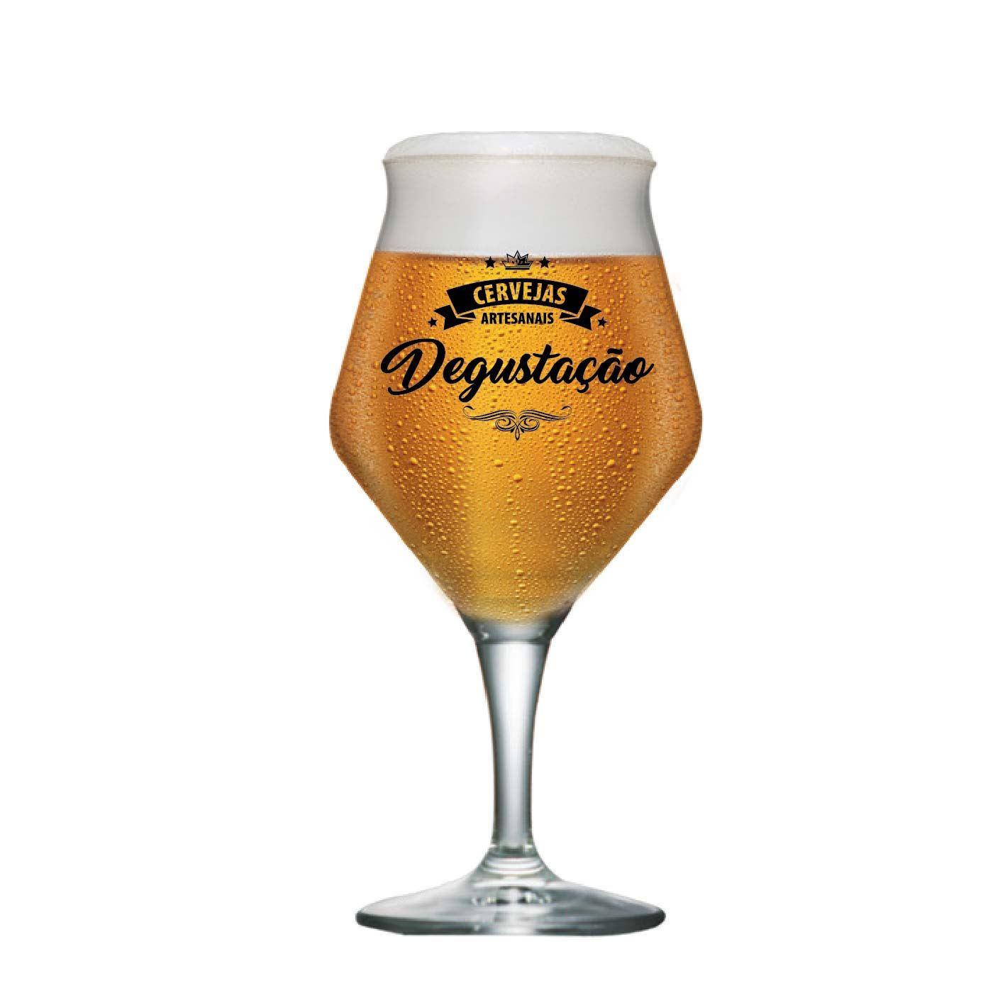 Taça de Cerveja Instituto Sommelier Degustacao Cristal 435ml