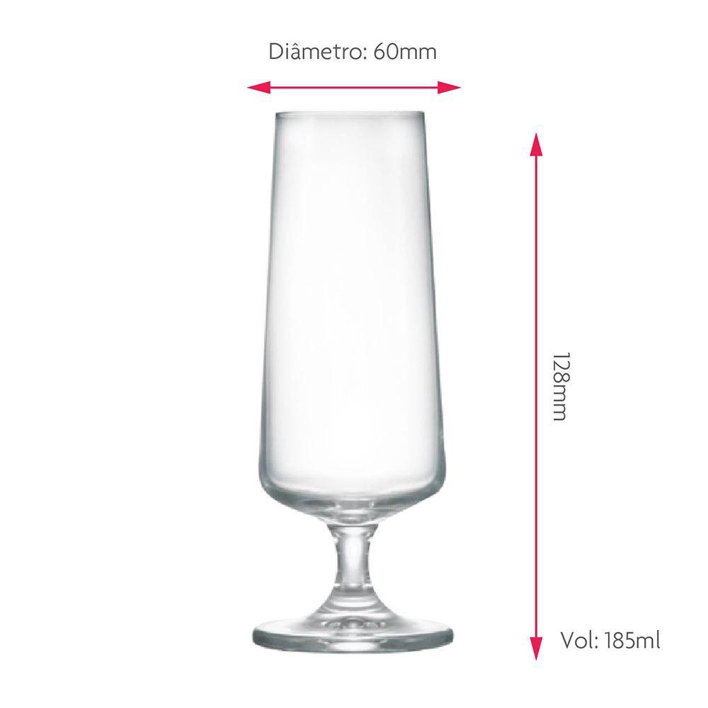 Taça de Cerveja de Cristal Minileed 185ml