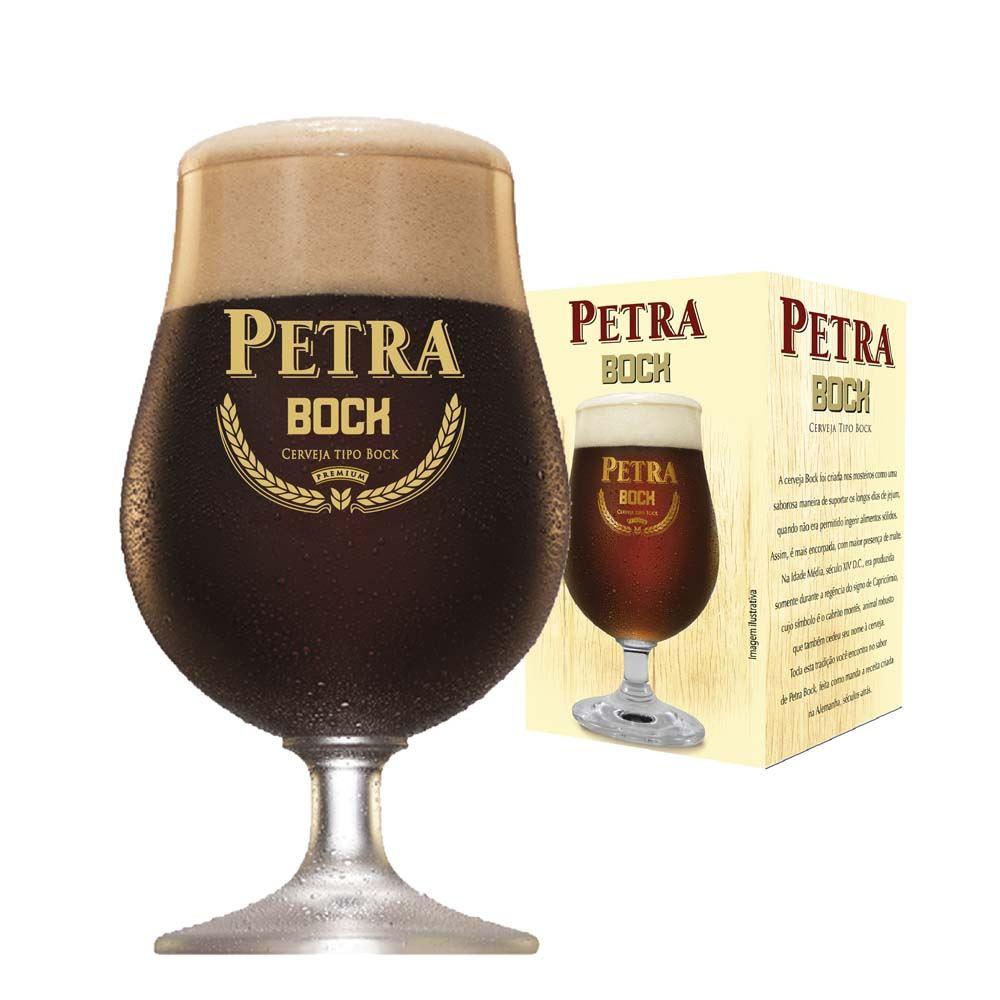 Taça de Cerveja Petra Bock Cristal 400ml