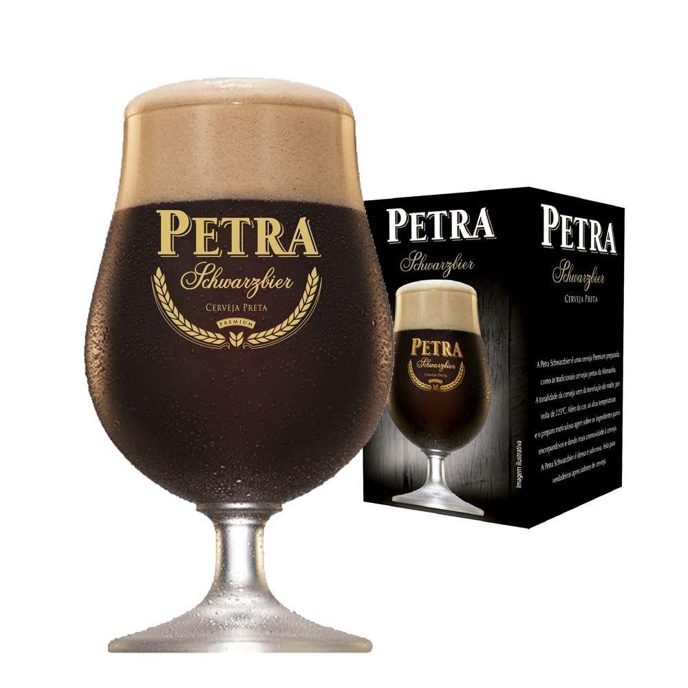 Taça de Cerveja Petra Schwarzbier Cristal 400ml