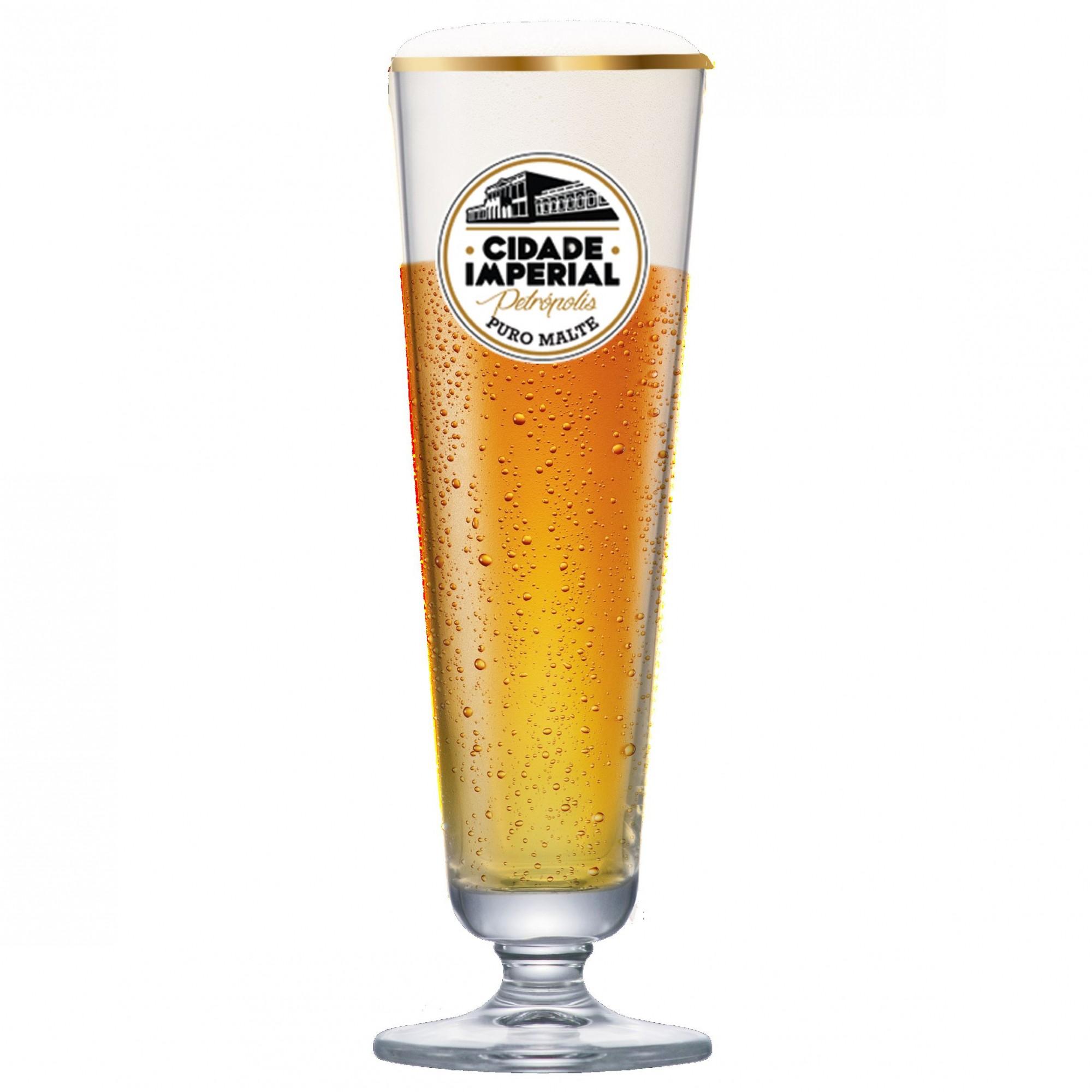 Taça de Cerveja Prestige P Cidade Imperial Cristal 325ml