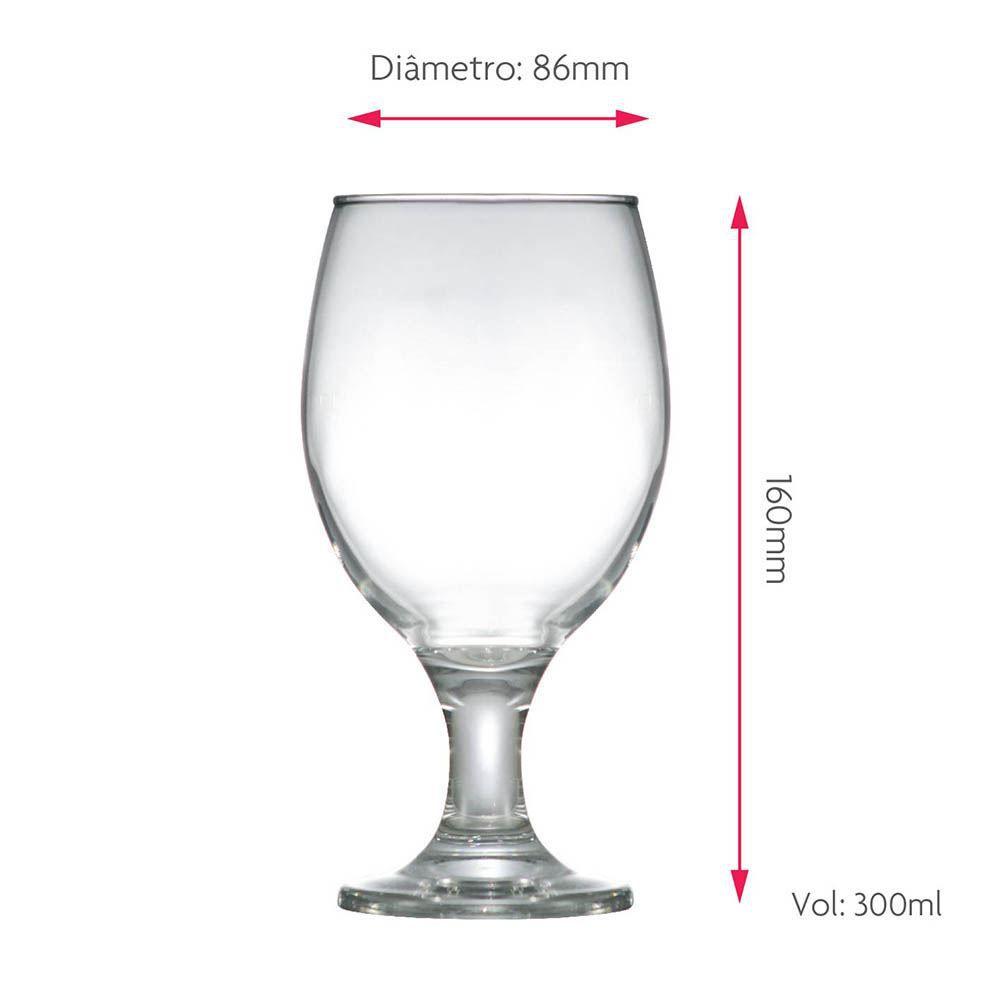 Taça de Cerveja Roma Vidro 400ml