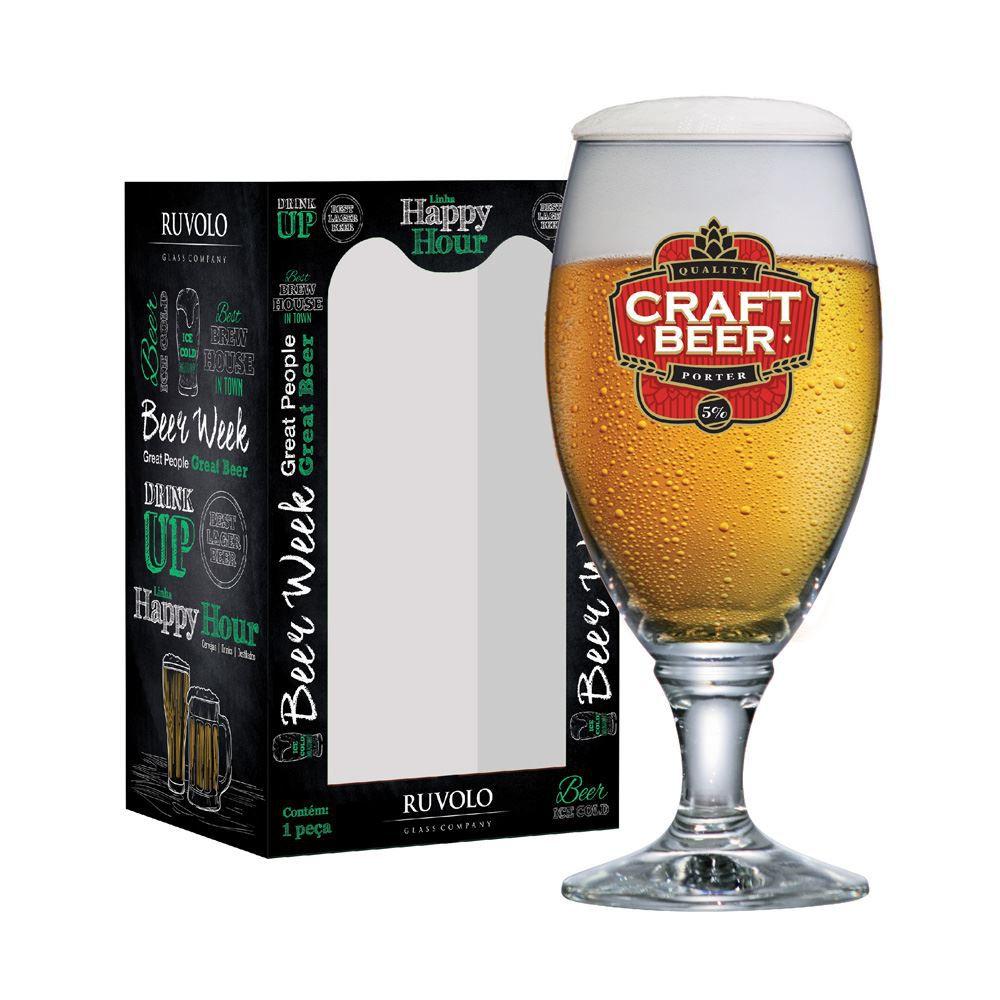 Taça de Cerveja Rótulo Frases Craft Beer Sevilla G 530ml